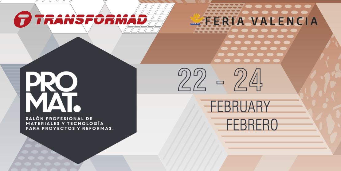 Feria PROMAT 2017, Feria de Valencia
